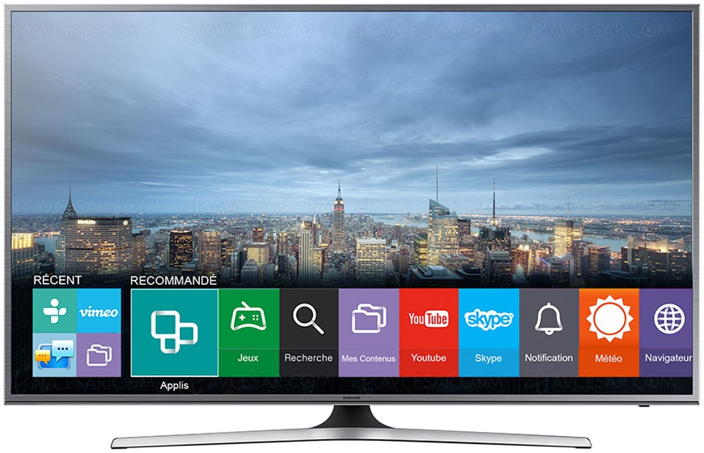 tv led ultra hd samsung ju6800 plats mise jour sp cification. Black Bedroom Furniture Sets. Home Design Ideas