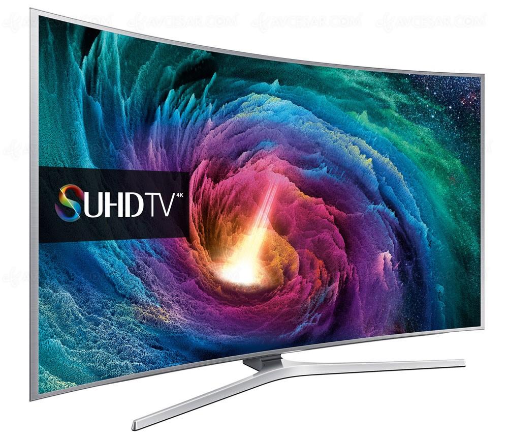 tv led ultra hd samsung js9000 courbe mise jour prix indicatif. Black Bedroom Furniture Sets. Home Design Ideas