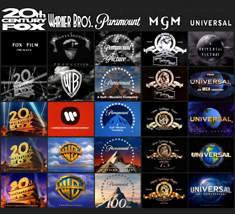 Studios cinéma : le poids des logos - AVCesar.com Universal Studios Logo 2017