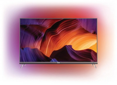 IFA 15 > TV LED UHD Philips PUS9600 : HDR, Android 5.1, Ambilight 4…