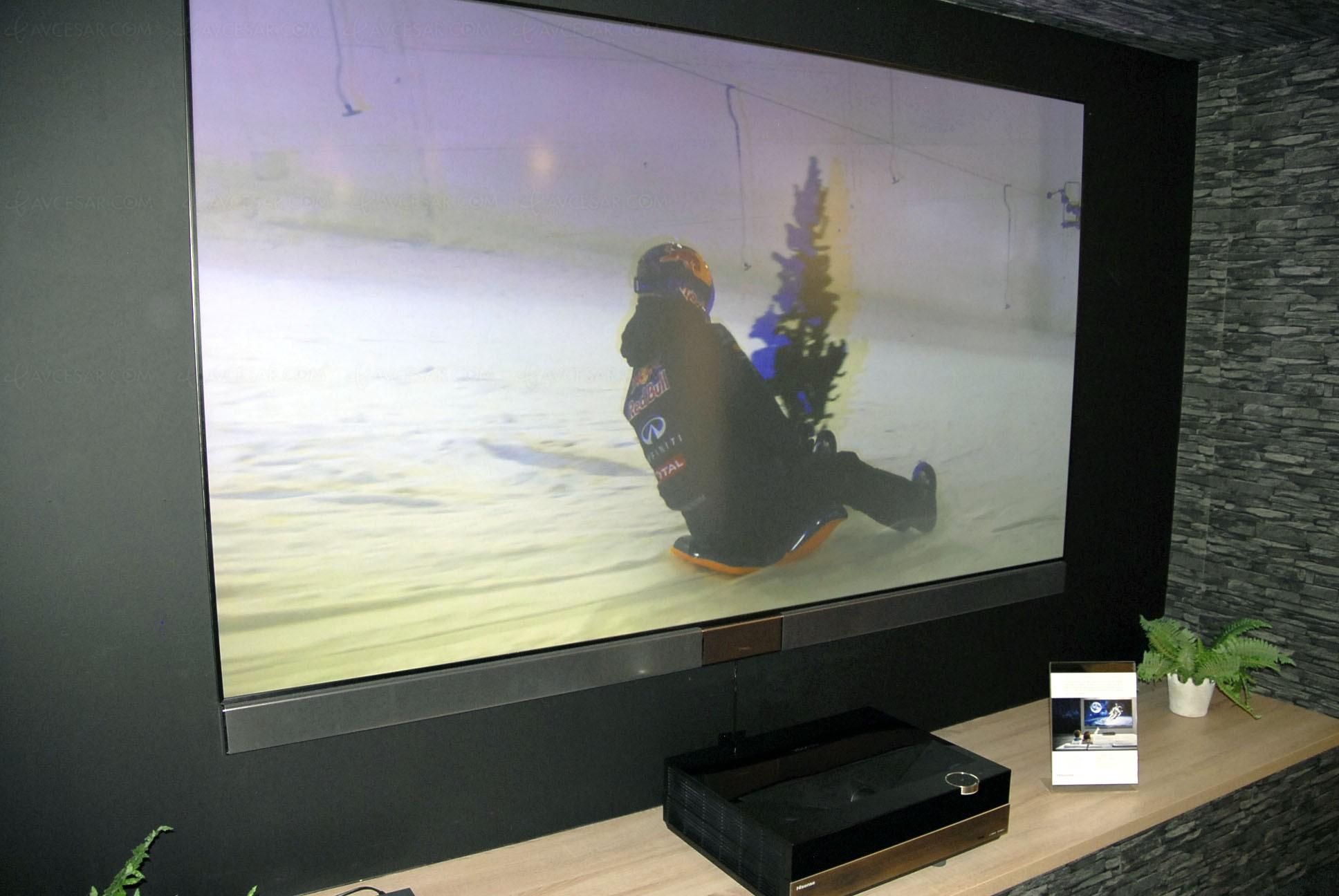 Videoprojecteur Avec Tuner Tv ifa 15 > hisense vidaa max 2 : vidéoprojecteur/tv laser