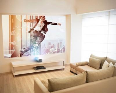 IFA 15 > Minibeam LG PF1000U : vidéoprojecteur ultracourte focale