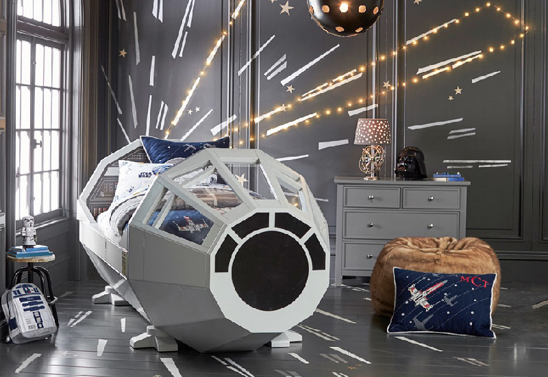 lit star wars apr s le r veil la force s endort. Black Bedroom Furniture Sets. Home Design Ideas