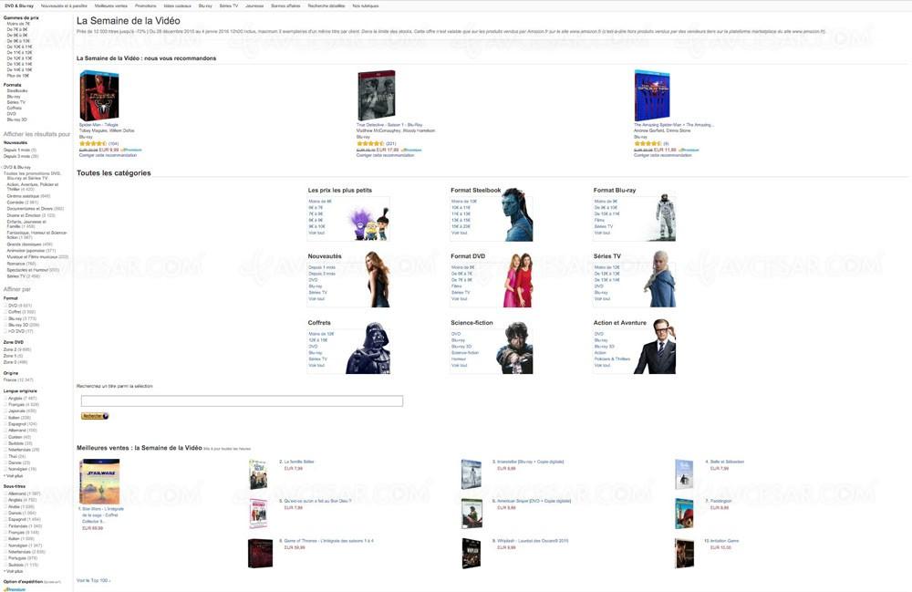 Amazon Semaine Video Jusqu A 75 Sur 12 000 Titres