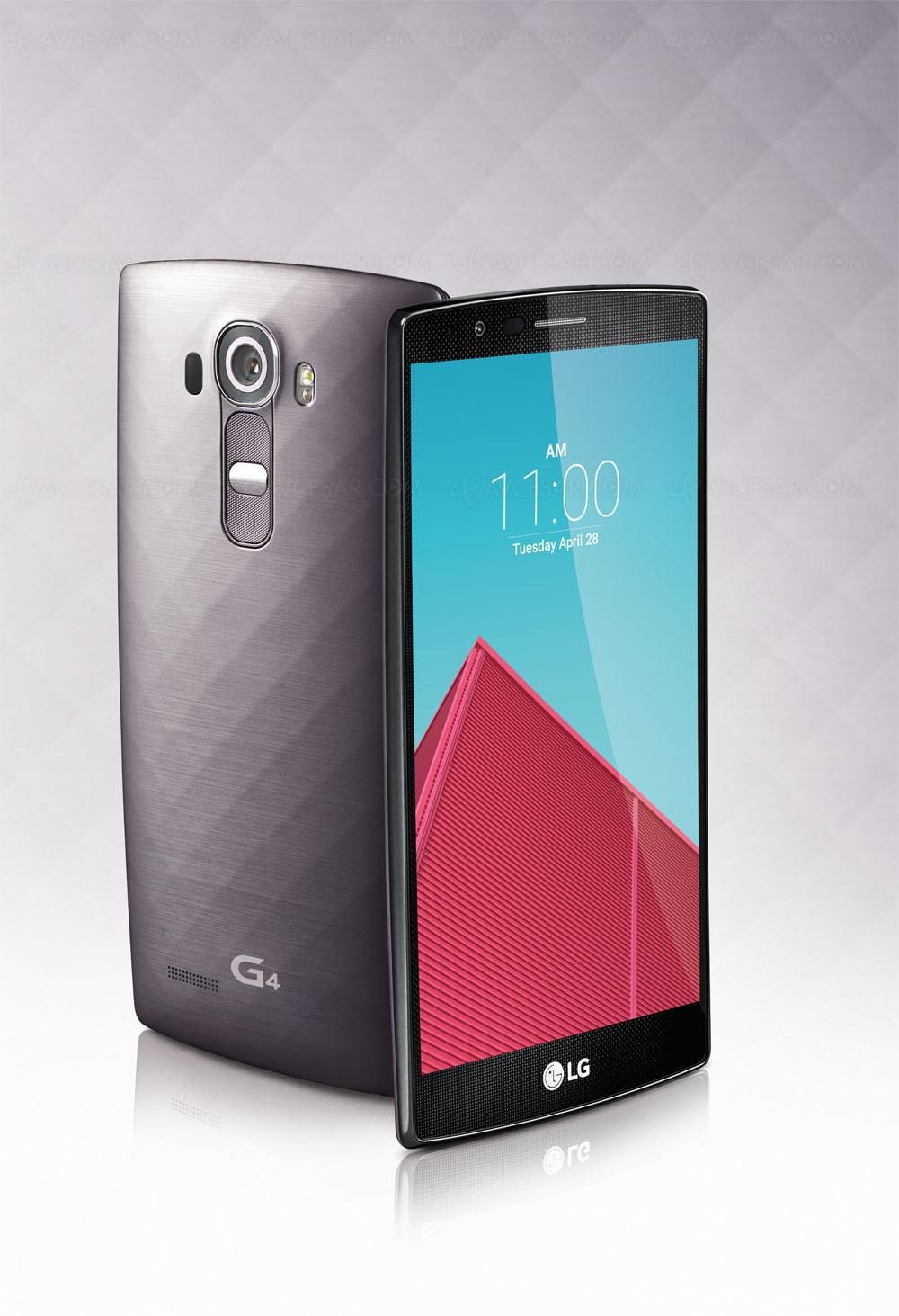 LG G4 Android 60 Marshmallow Premier Sur Le Coup