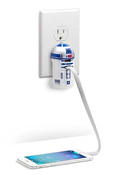 Chargeur USB R2-D2 : droïde très au courant
