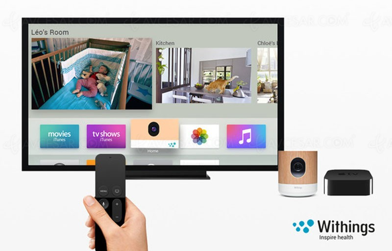 withings home compatible apple tv surveillance sur grand. Black Bedroom Furniture Sets. Home Design Ideas
