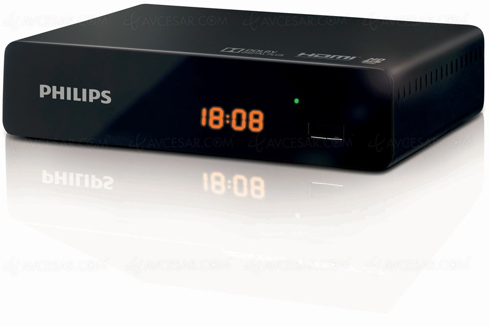 Philips dtr3000 dsr3231t adaptateur tnt hd - Decodeur tnt hd philips ...