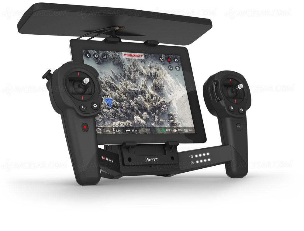 parrot drone bebop 2 500 g et 25 mn de vol. Black Bedroom Furniture Sets. Home Design Ideas