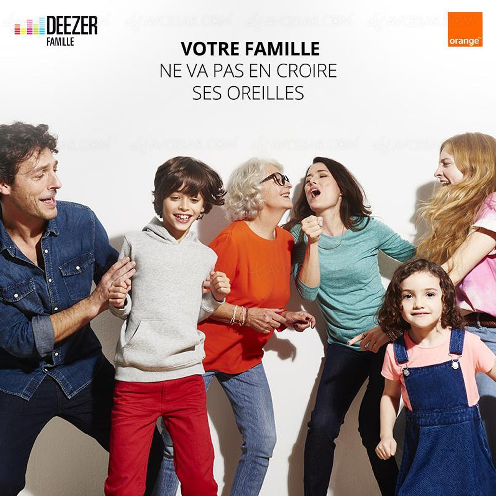 deezer famille sur orange nouvelle offre familiale. Black Bedroom Furniture Sets. Home Design Ideas