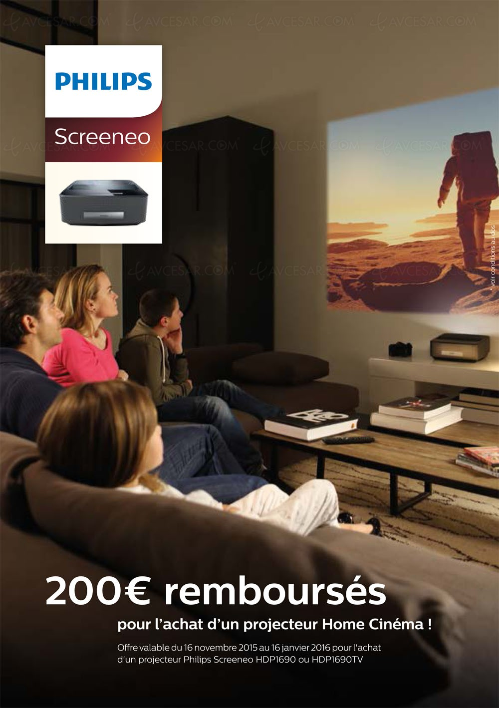 offre de remboursement philips screeneo 200 rembours s. Black Bedroom Furniture Sets. Home Design Ideas