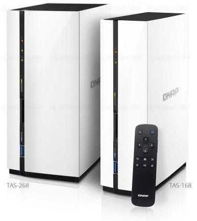 Qnap TAS-168 et TAS-268 : Nas double OS et Ultra HD