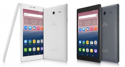 CES 16 > Gamme Alcatel Onetouch Pixi 4 : smartphone, phablette et tablette