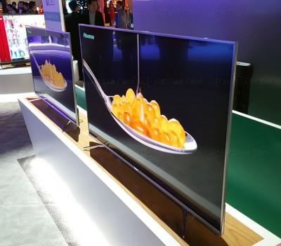 CES 16 > TV Uled Hisense M7000 : deux tailles d'écran en vue