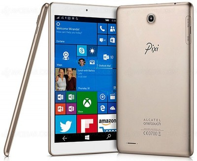 Alcatel Onetouch Pixi 3 8'' : première tablette Windows 10