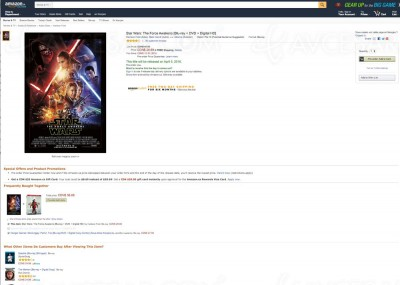 Star Wars le réveil de la Force : en Blu-Ray le 5 avril