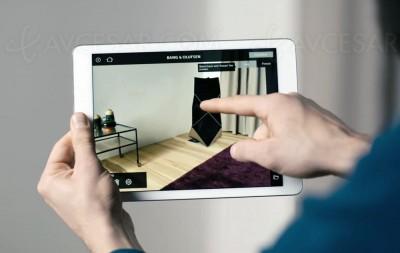 Application BeoHome Design : produits B&O dans votre intérieur
