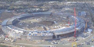 Apple Campus 2 (vidéo) : les travaux progressent