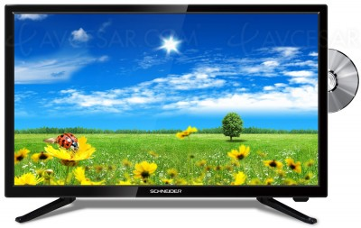 TV LED Schneider SCF06 : deux modèles combo DVD
