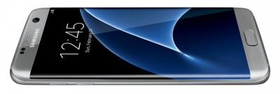 Photo Galaxy S7 Edge : version grise