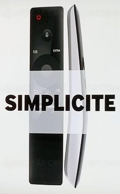 TV LED Samsung 2016 : nouvelle télécommande simplissime