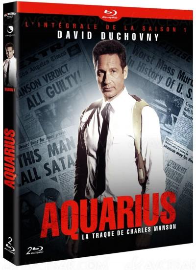 Aquarius saison 1 en Blu-Ray/DVD : David Duchovny traque Charles Manson
