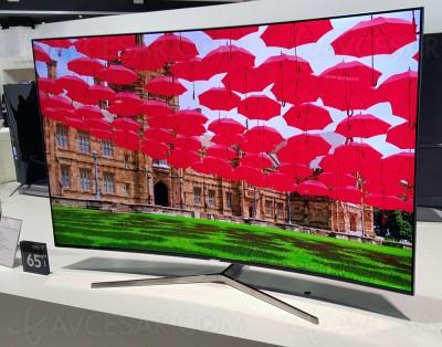 TV LED Ultra HD Samsung KS9000 : 55''/65''/78'' courbes au programme