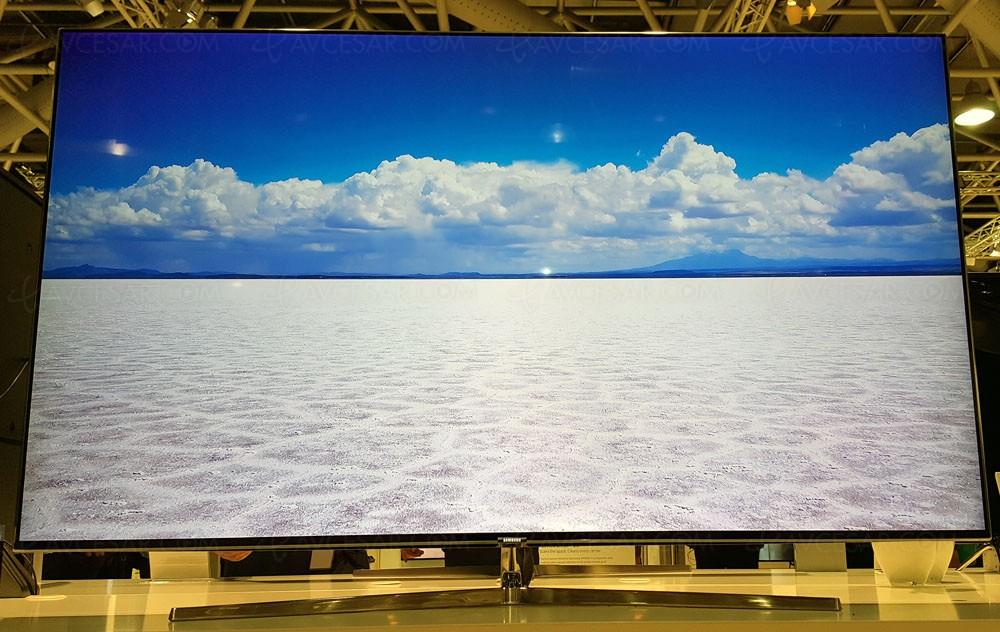 tv led ultra hd samsung ks8000 55 65 78 plats au