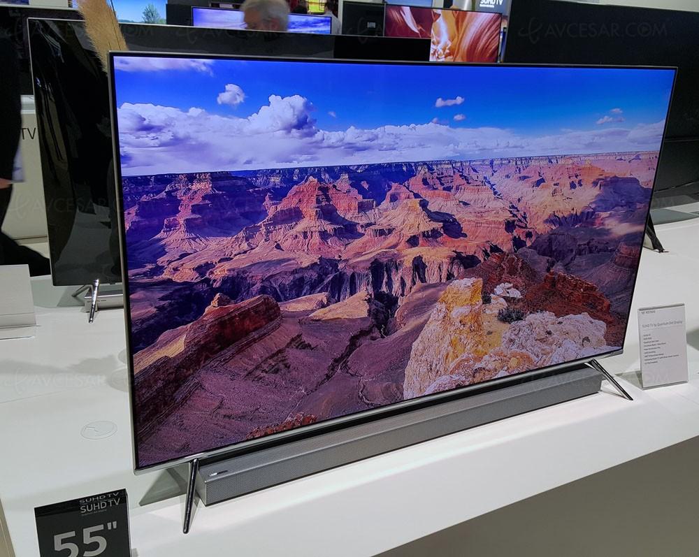 Tv Led Ultra Hd Samsung Ks7000 49 Et 55 Plats Annonc 233 S