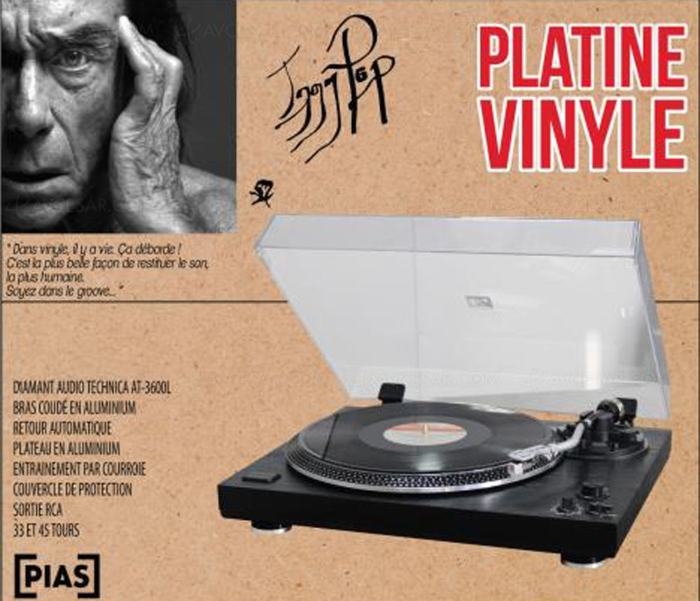 platine vinyle dea par iggy pop let 39 s groove. Black Bedroom Furniture Sets. Home Design Ideas