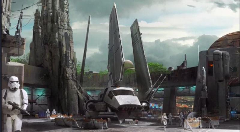 Parc Star Wars Land Nouvelles Images Avcesar Com
