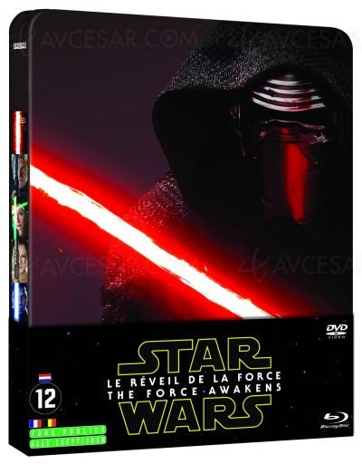 Blu-Ray/DVD Star Wars le réveil de la Force : et les bandes-son sont…