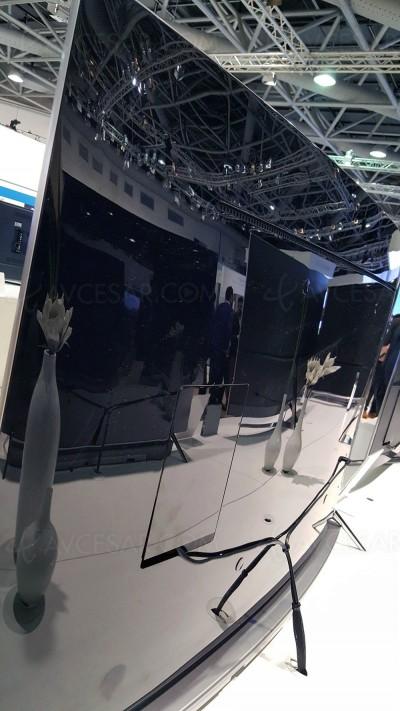 TV LED Ultra HD Samsung KS7500 : mise à jour prix et taille d'écran