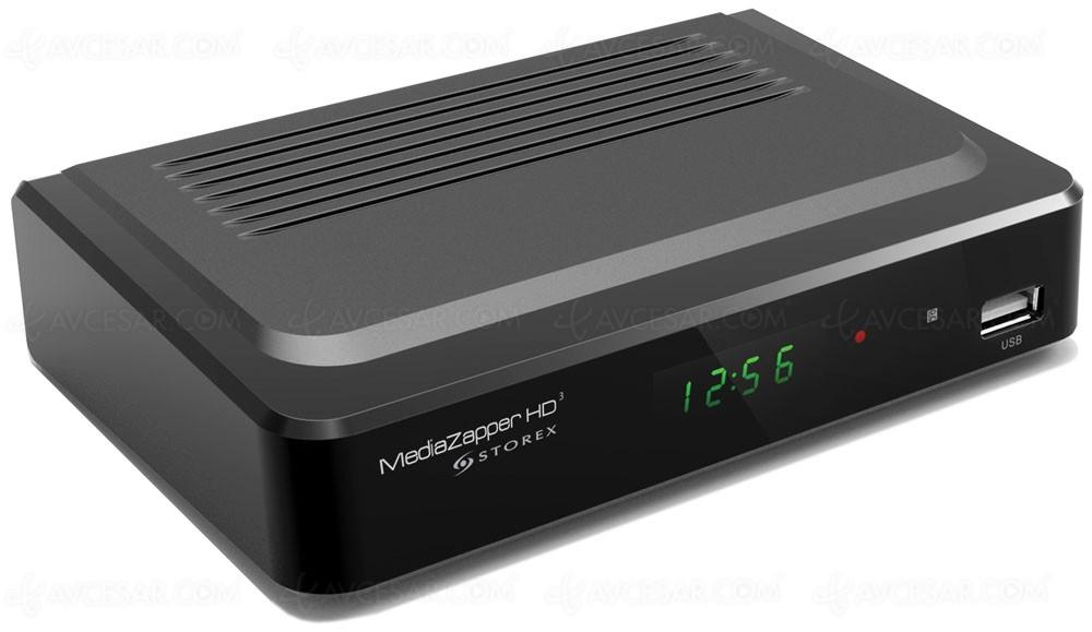 storex mediazapper hd3 lecteur multim dia et tuner tnt. Black Bedroom Furniture Sets. Home Design Ideas