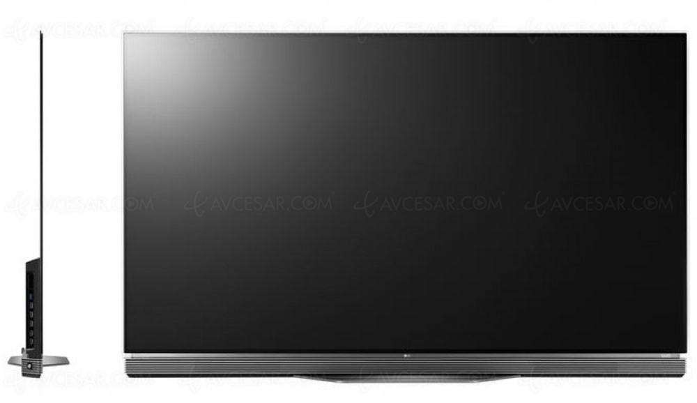 tv oled ultra hd lg e6 mise jour prix indicatif bis. Black Bedroom Furniture Sets. Home Design Ideas