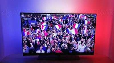 TV Philips Ambilight Euro 2016 : mode drapeau supporter