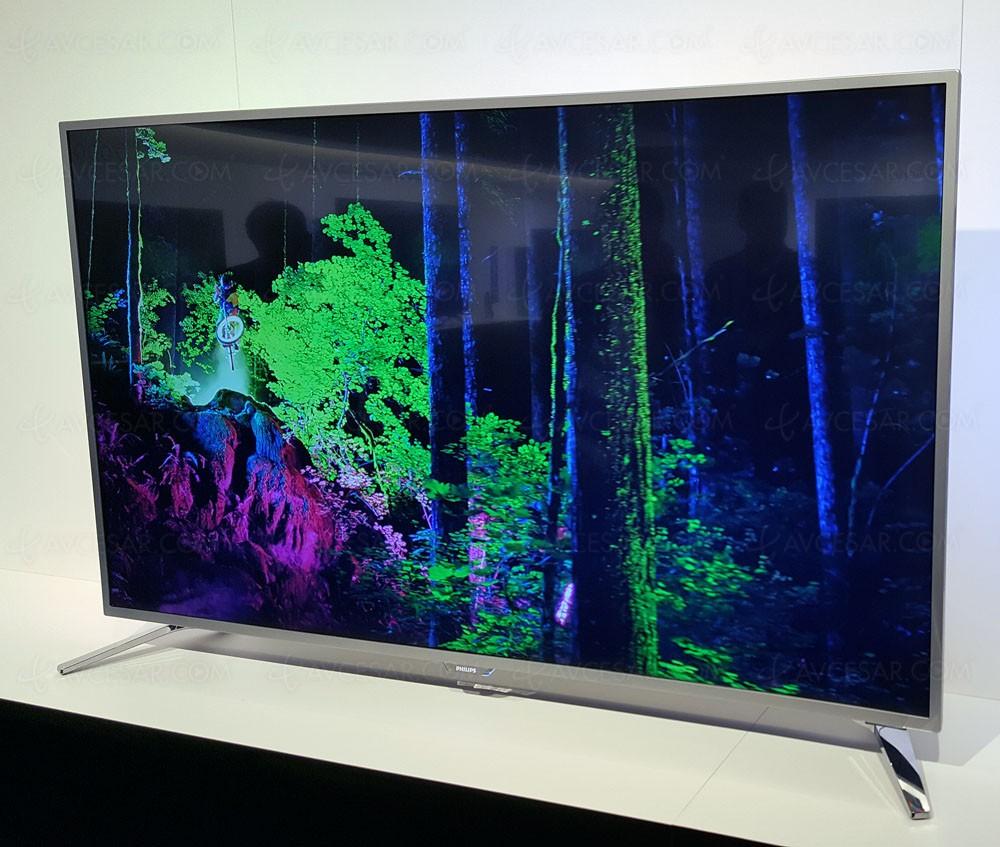 tv led ultra hd philips pus6561 mise jour prix indicatifs. Black Bedroom Furniture Sets. Home Design Ideas