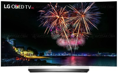 TV Oled LG C6V Ultra HD Premium : 55''/65'' HDR Dolby Vision courbes