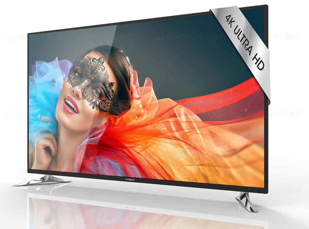 TV LED Ultra HD Polaroid TQL75UHD : modèle 75'' pour moins