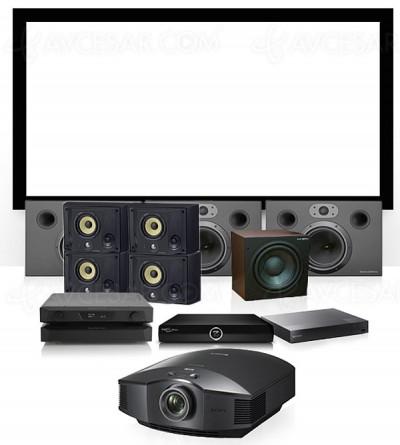 Packs Cinéma chez soi Cinexion : Home Cinéma facile et accessible