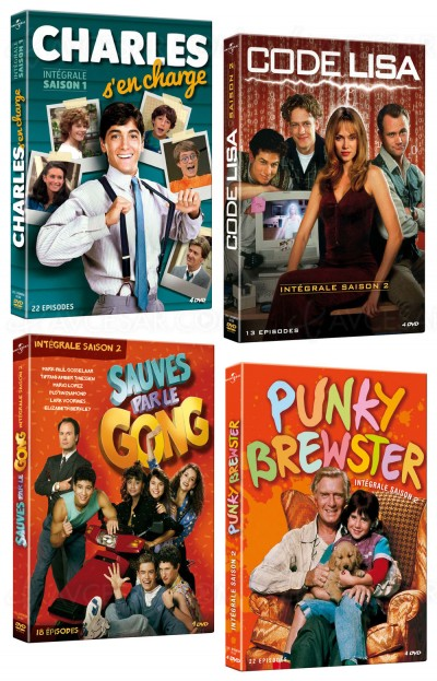 Sitcoms made in 80's : Charles s'en charge, Punky Brewster…