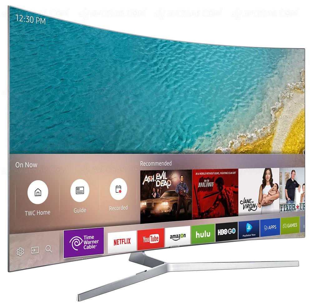 tv led ultra hd samsung ks9500 mise jour disponibilit. Black Bedroom Furniture Sets. Home Design Ideas