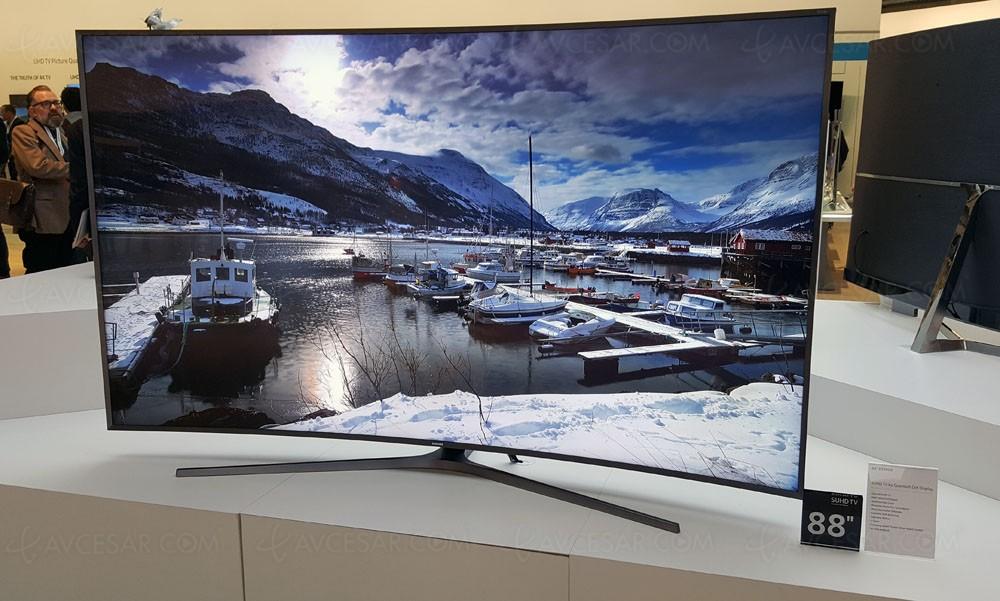 tv led ultra hd samsung ks9800 mise jour prix indicatif. Black Bedroom Furniture Sets. Home Design Ideas