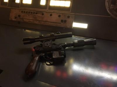 Film Han Solo : « première » image
