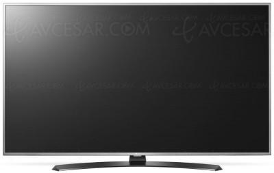 TV LED Ultra HD LG UH668V : quatre diagonales annoncées
