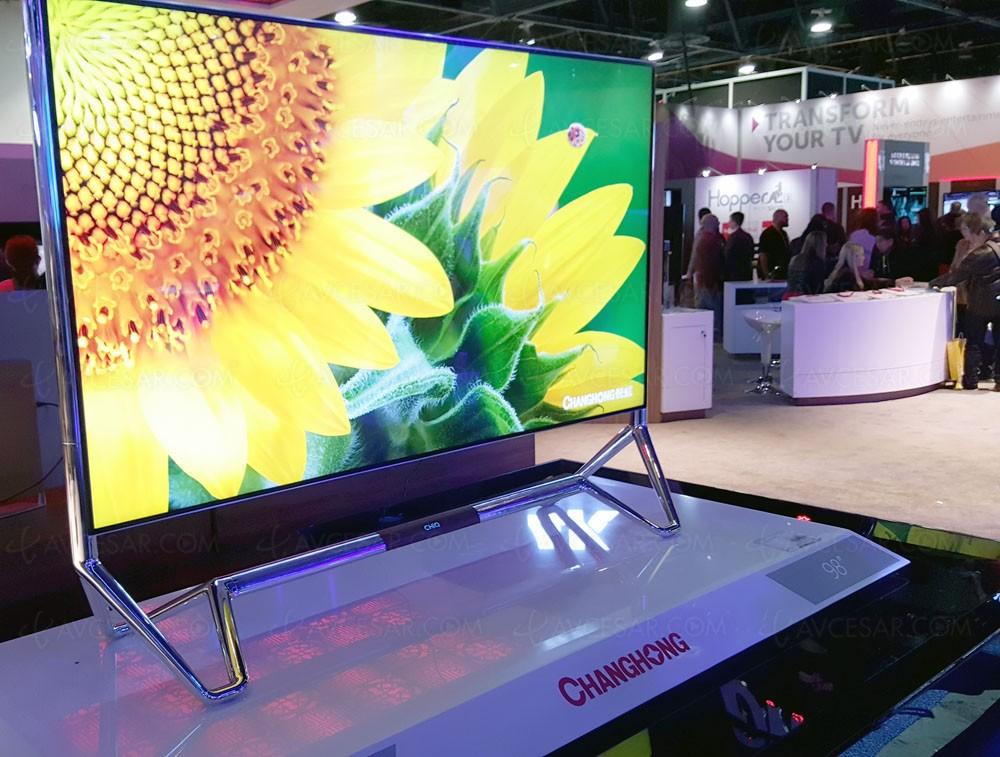 0a4bea5af Nouveautés TV ChangHong : LED 8K, Oled Imax, Oled Ultra HD/4K
