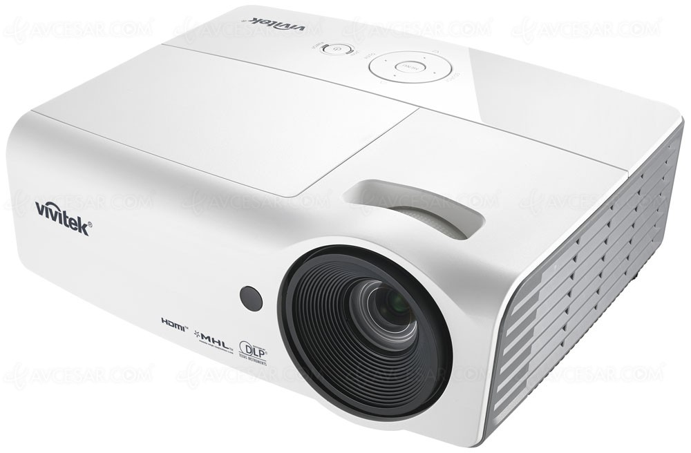 Vid oprojecteur vivitek h1060 mod le dlp home cin ma - Videoprojecteur home cinema pour un interieur ultra moderne ...