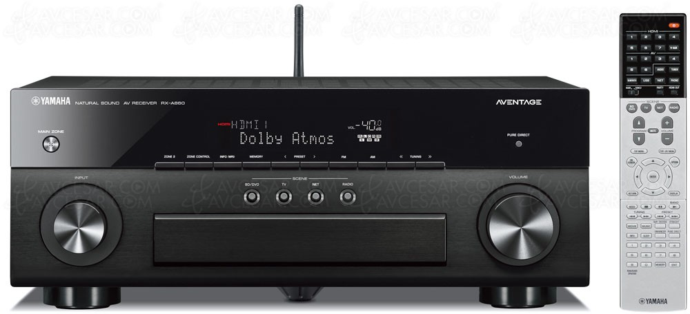 amplificateur 7 2 yamaha rx a860 dolby atmos dts x hdmi 2 0 hdcp 2 2. Black Bedroom Furniture Sets. Home Design Ideas