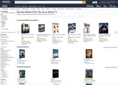 Promos Blu-Ray/DVD Amazon : les meilleures offres du moment