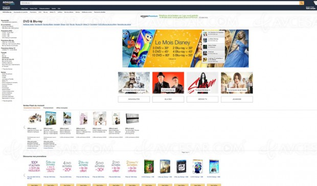 Promos Blu-Ray/DVD/série TV Amazon, récapitulatif des meilleures offres du moment :